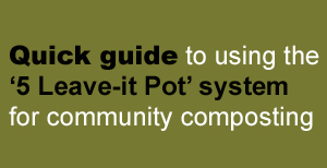 Quick guide to community composting