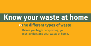 The different types of waste