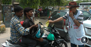 Meet Delhi's Traffic Baba