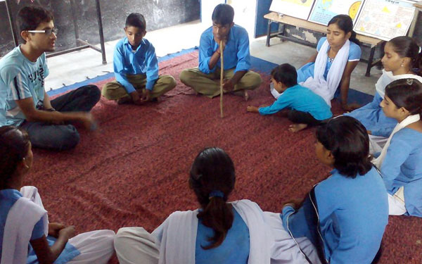65 students in Rajgarh, Madhya Pradesh, take the matters of their education in their own hands